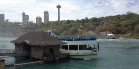 Maid of the Mist loading dock