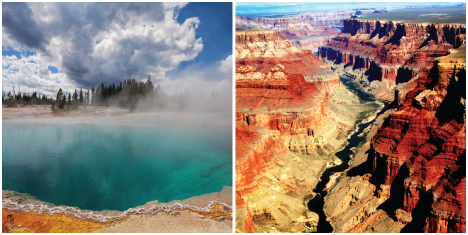 Yellowstone and Grand Canyon