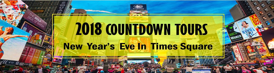 2018 Countdown Tours banner