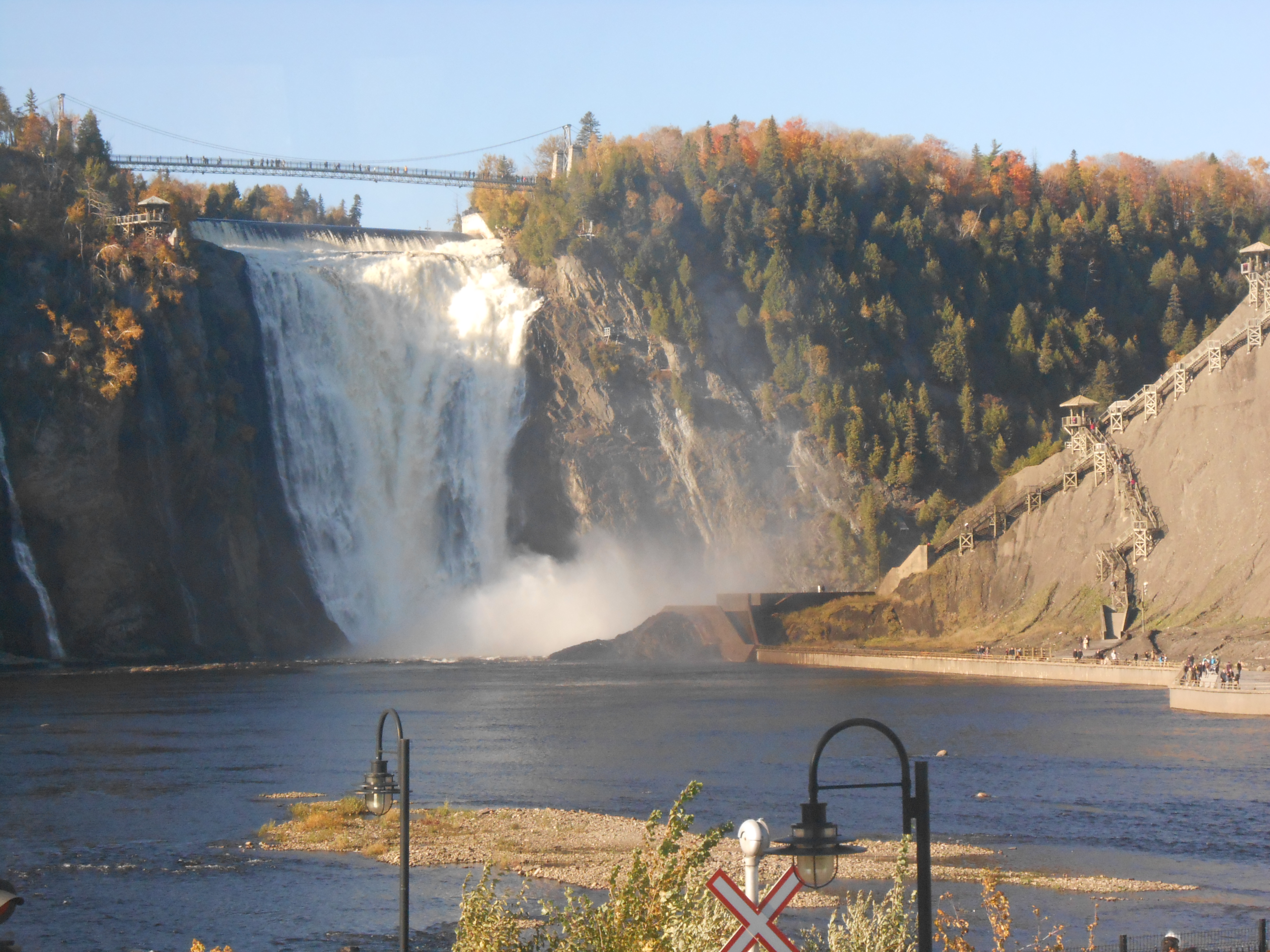 1 Day Montmorency Falls Amp Quebec Summer Tour From Montreal