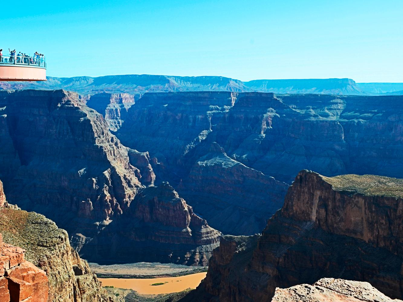 Grand Canyon West Rim Sky Walk Tours  Vacation Packages