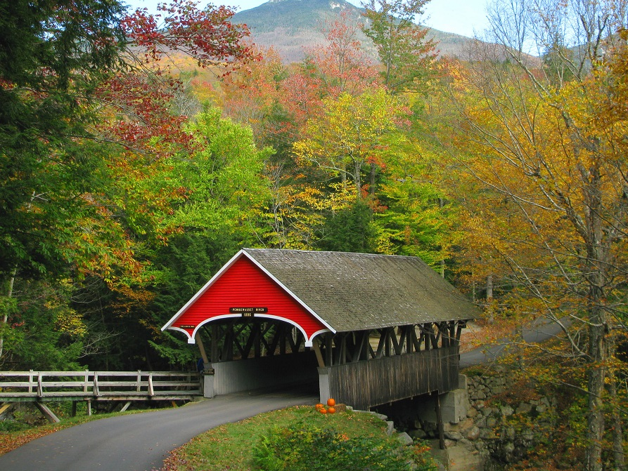 New England Fall Foliage 7 Day Tour White Mountain Route Boston Airport Pick Up Transfer