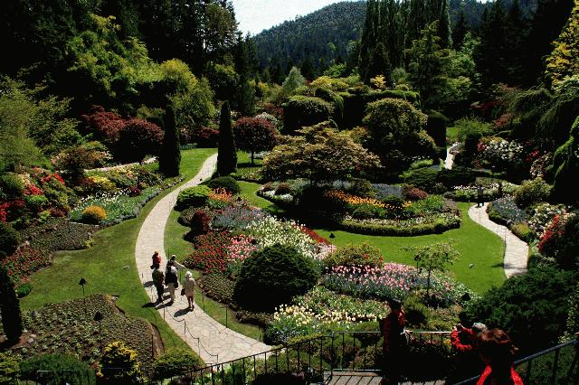 7 day canadian rockies banff jasper and victoriatour - Butchart gardens tour from victoria ...