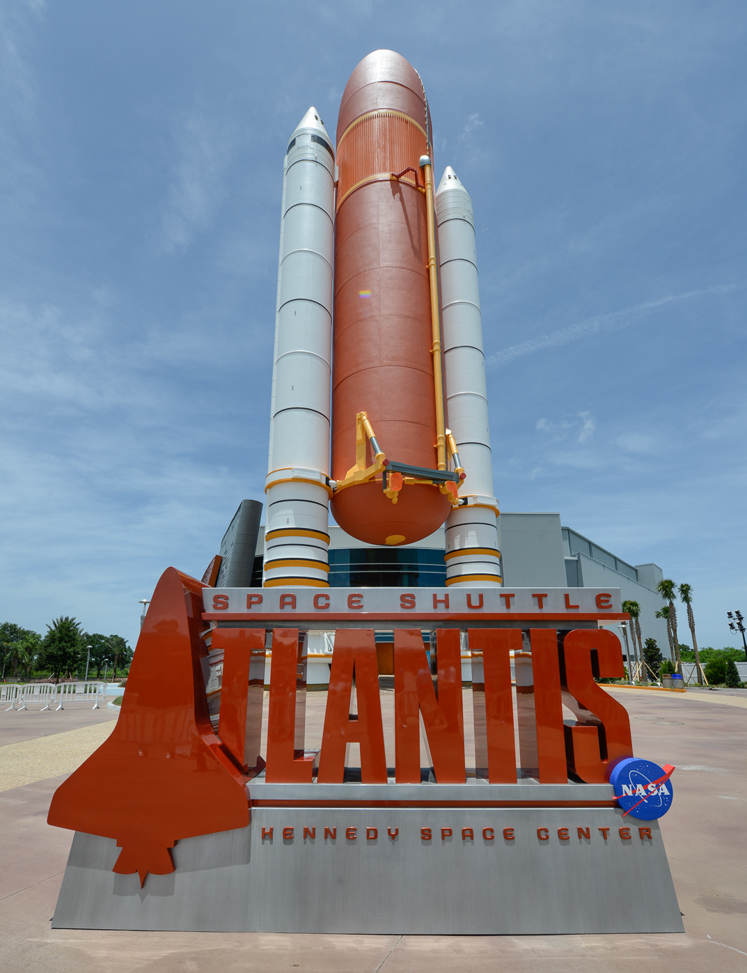 Space Shuttle Atlantis Entrance