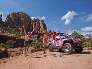 2-hour Broken Arrow (Red Rock) Pink Jeep Tour from Sedona
