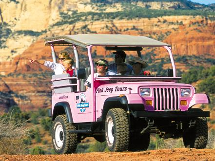 2 5 hr diamondback gulch pink jeep tour from sedona for Garage jeep luxembourg