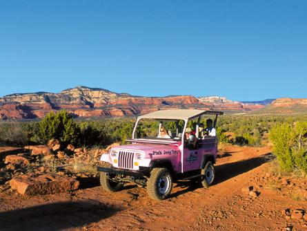 1.5-hr or 2-hr Coyote Canyons Pink Jeep Tour from Sedona