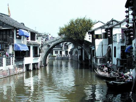 Shanghai Suburb Water Village Half Day Tour