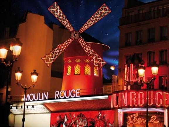 Moulin Rouge 1st Show from Paris