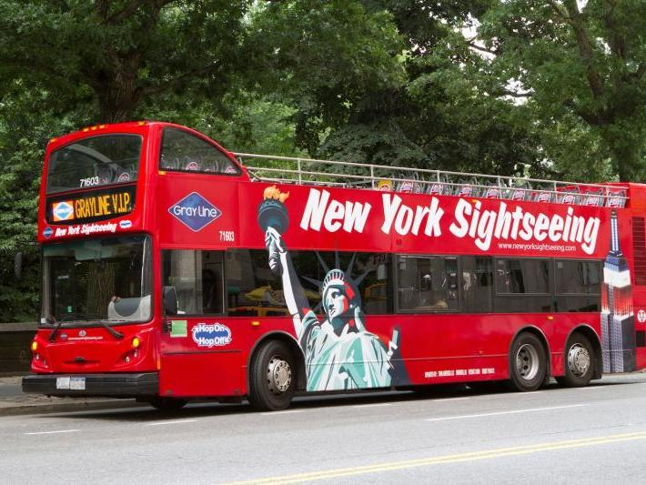 You can find on this page the map of New York City monuments, the map of New York City tourist buses and the map of NYC river cruises. New York City is the most visited city in United States with million tourists per year.