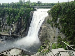1-Day Montmorency Falls & Quebec Tour from Montreal