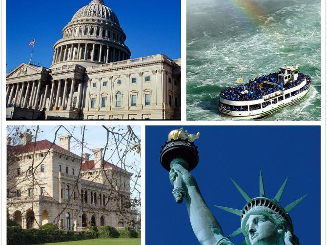 5-Day Washington D.C., Philadelphia, Niagara Falls Classic Tour from New York