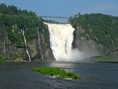1-Day Montmorency Falls, Quebec City Tour from Montreal