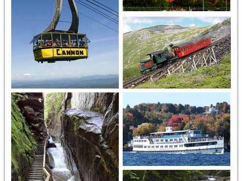 2-Day New Hampshire White Mountain, Lake Winnipesaukee Foliage Tour from Boston