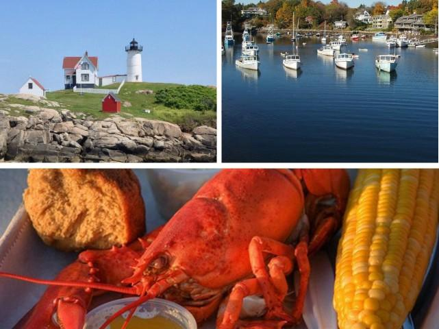 1-Day Maine Beautiful Coastline, Lobstering Trip from Boston