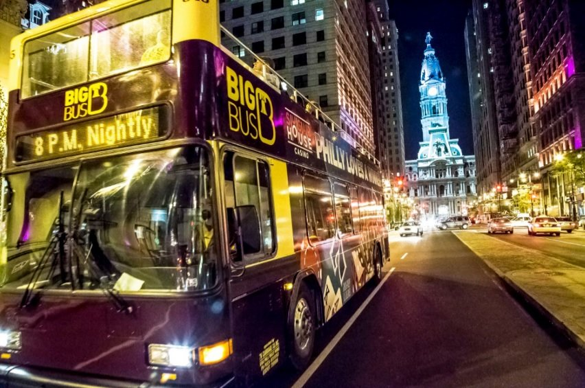 Philly By Night Sightseeing Tour