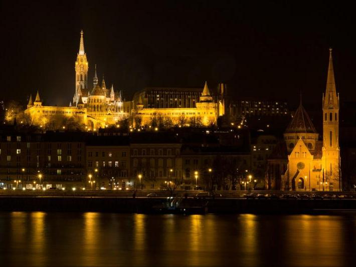 Budapest by Night with Folklore Show