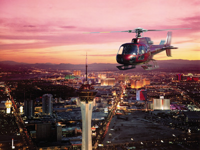Las Vegas Helicopter and Limo Luxury Night Tour