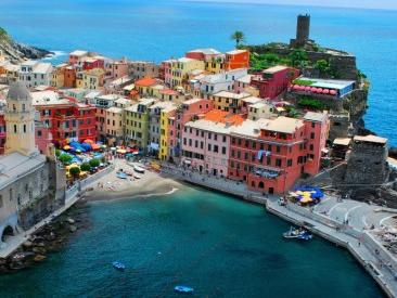 1-Day the Cinque Terre Tour from Milan