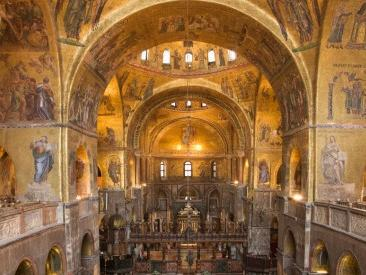 Saint Mars's, the Golden Basilica Guided Tour from Venice