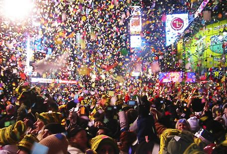 4-Day 2017 New Year New York Countdown Tour from Toronto