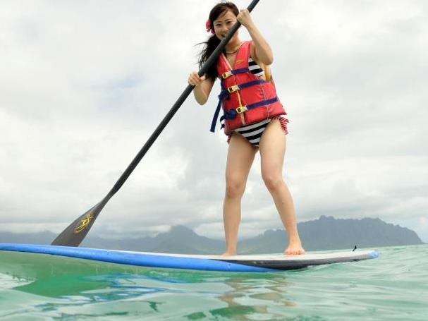 Half Day Stand-up Paddle with Ocean Sports Tour from Honolulu