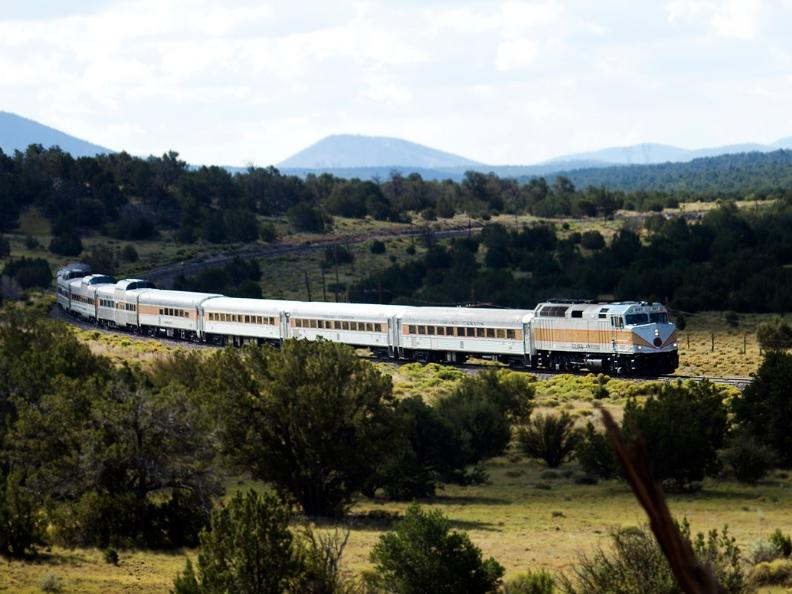 Grand Canyon Rail Tours From Phoenix
