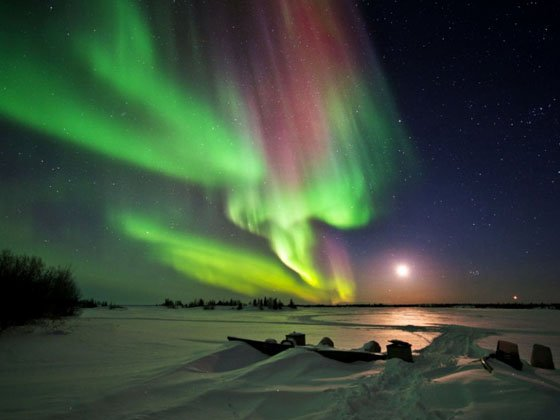4-Day Yellowknife Aurora Independent Tour from Yellowknife
