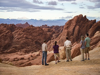 6-hour Valley of Fire Pink Jeep Tour from Las Vegas