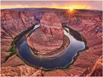 6-Day Antelope Canyon, Zion, Bryce Canyon Overnight, Grand Canyon West Rim Tour from Los Angeles/Las Vegas