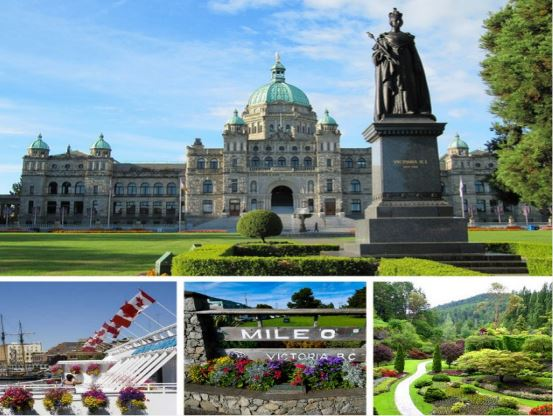 2-Day Victoria, Butchart Garden Summer Tour from Vancouver