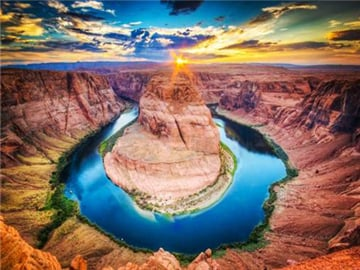 3-Day Las Vegas, Antelope Canyon and  Horseshoe Bend Deluxe Tour from Los Angeles