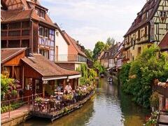 3-Day Eguisheim,Colma and Baden Baden hot spring Tour from Paris