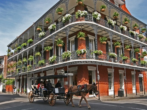 6-Day New Orleans, Oak Alley Plantation, Mississippi River, Baton RougeTour from New Orleans with Airport Transfer