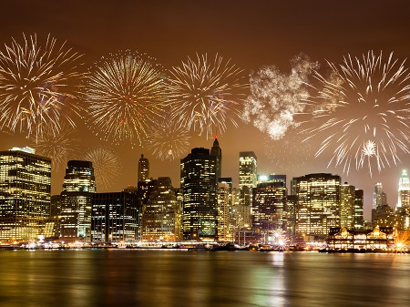 7-Day East Coast New Year's Eve Countdown Deluxe Tour from New York with Airport Transfers - 12/30 Departure
