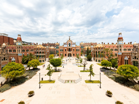 Skip the Line: Guided Tour of La Sagrada Familia & Sant Pau Art Nouveau from Barcelona