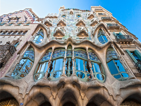 Artistic Barcelona PM: The Best of Gaudi with Casa Batllo Admission