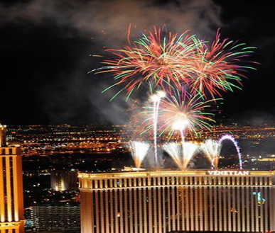 3-Day 2018 New Year's Countdown Las Vegas and Grand Canyon Tour from Los Angeles/Las Vegas