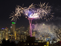 8-Day Seattle New Year's Eve Countdown Tour from Seattle with Airport Transfers