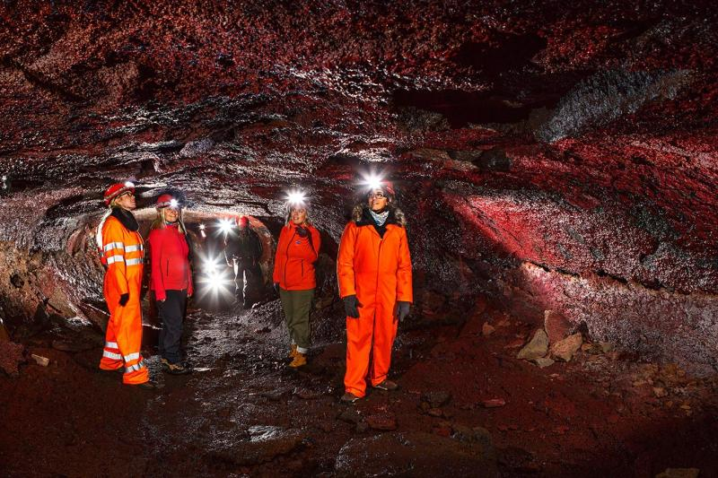Iceland From Below - Underground Adventure from Reykjavik