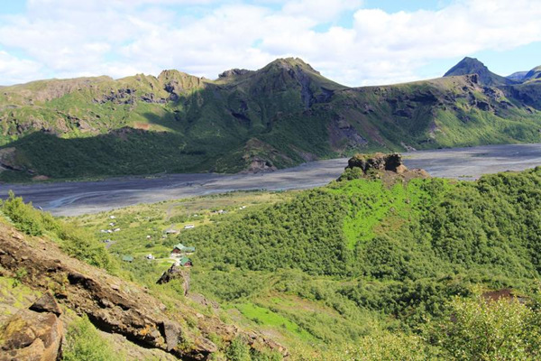 Waterfalls, Glacier and Volcano Tour