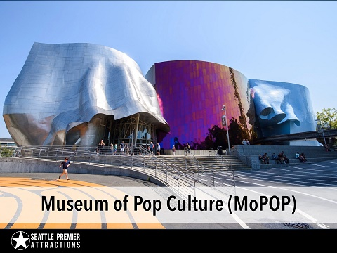 Museum of Pop Culture (MoPOP) Ticket Only