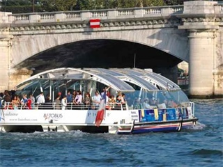 Paris Hop-on-Hop-off Open Tour plus Boat Tour