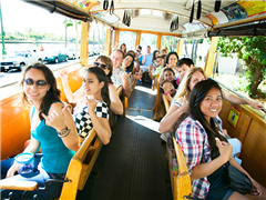 1-Day Waikele Center & Waikele Premium Outlets Trolley Tour