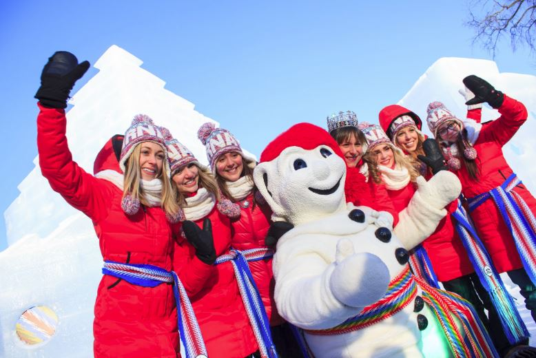 3-Day Quebec Ice Hotel Winter Carnival Tour from Boston