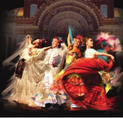 1-Day Mexican Folklore Ballet Morning Tour from  Mexico City