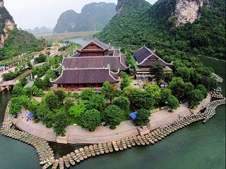 1-Day Trang An and Bai Dinh Pagoda Tour from Hanoi