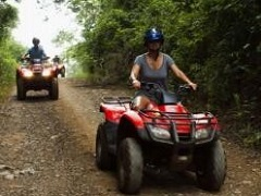 1-Day ATV Jungle & Waterfalls Tour from Huatulco
