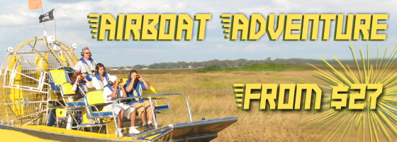 Airboat Tours from Orlando, FL
