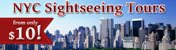 NYC Sightseeing Tours From $10